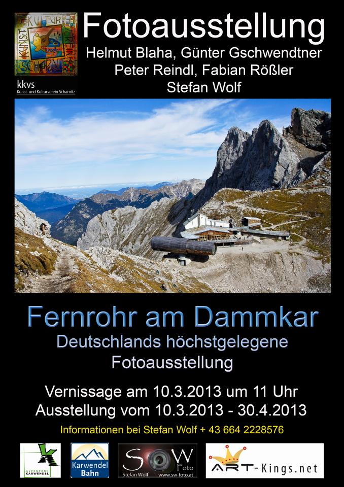 Deutschlands höchstgelegene Fotoausstellung