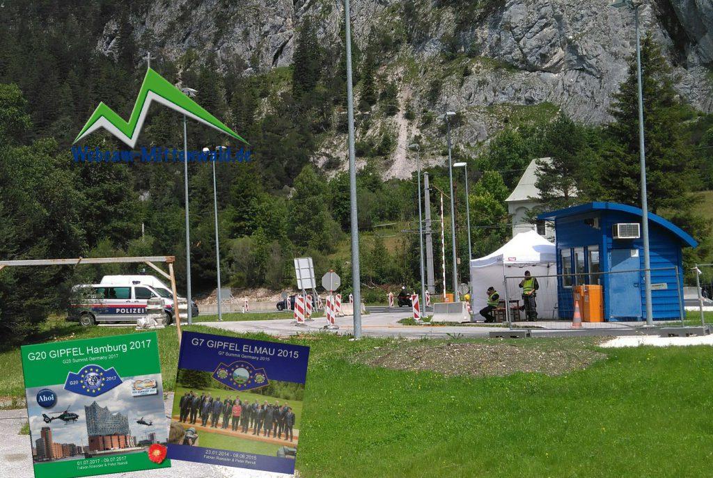 Grenzkontrollen zwischen Tirol und Bayern
