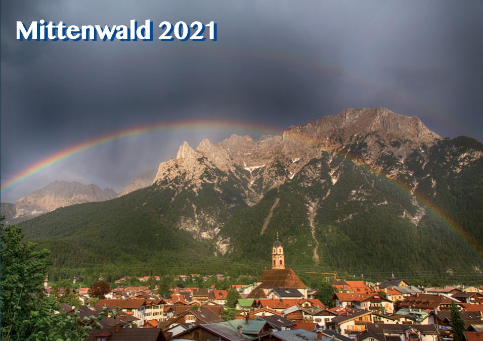 Mittenwald Kalender 2021